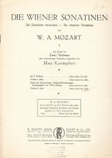 Edition Schott 2159 - W.A.Mozart ,Die Wiener Sonatinen Violine II allein