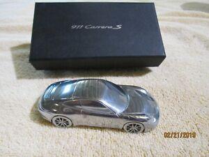 Porsche 911 Carrera S Limited Edition Model Metal Car Paperweight Novelty