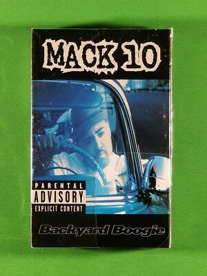 Mack 10 - Backyard Boogie (1997, Cassette Single) [SEALED ...
