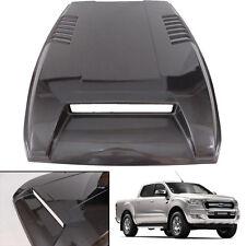 Hood Scoop Bonnet Cover Trim Vent Fit Ford Ranger Facelift Wildtrak Space Gray