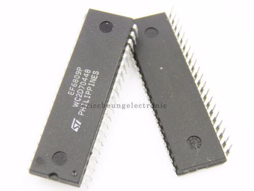 2pcs IC ST EF6809P DIP-40 NEW EF 6809 IC