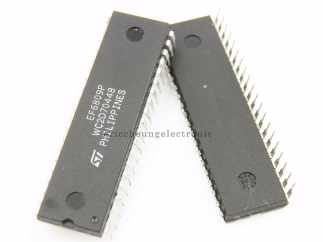 2pcs IC ST EF6809P DIP-40 NEW EF 6809 IC