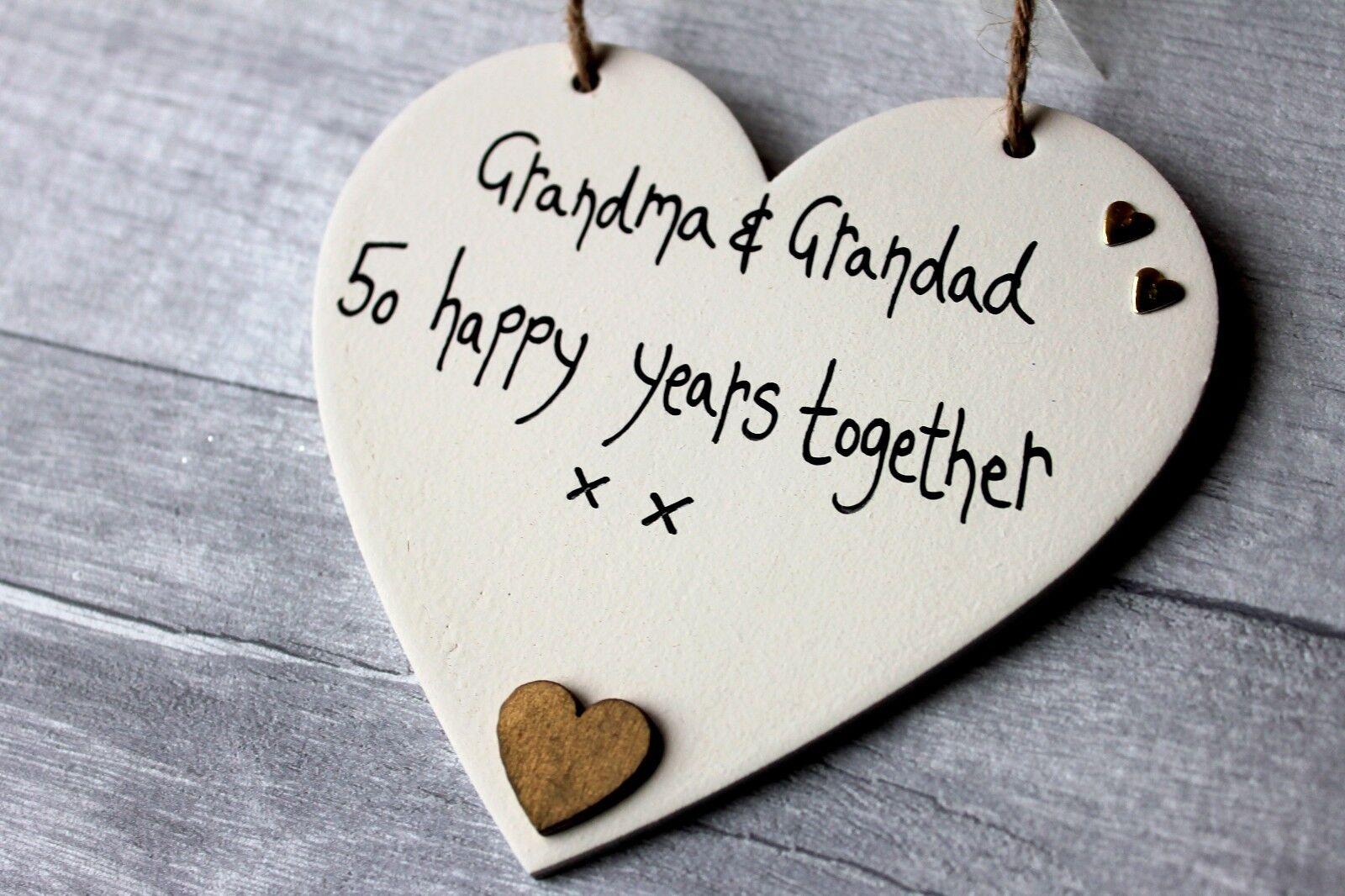 Golden 50th Wedding Anniversary Gift