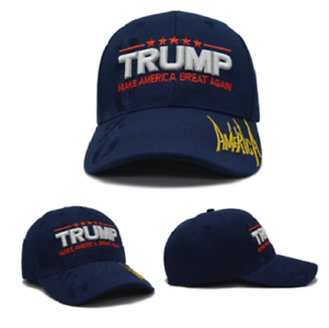 bc1e0f7ad1f2f Navy Blue MAGA President Donald Trump Make America Great Again Hat ...