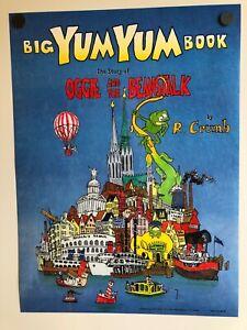 R-CRUMB-BIG-YUM-YUM-BOOK-STORY-OF-OGGIE-amp-THE-BEANSTALK-BOOKSTORE-POSTER-1995