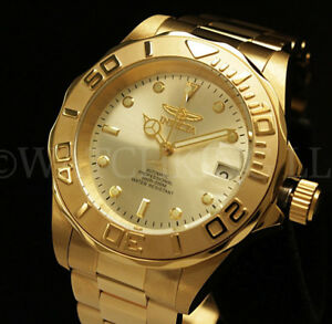 NEWInvicta-Pro-Diver-NH35-Automatic-24-Jewels-18K-Gold-Plated-S-S-Bracelet-Watch