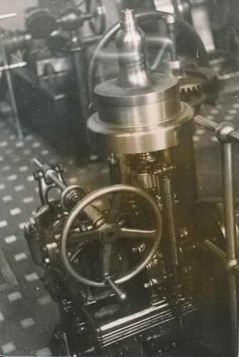 NORVÈGE c.1950 -Régulateur Turbine Centrale Hydroélectrique Tyssedal Odda-P 1768