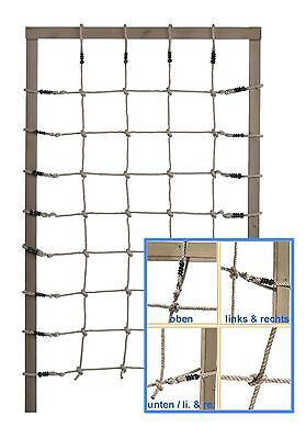 Climbing Rope-Net Children's PP 125/200cm Rope Play Jungle Gym Component