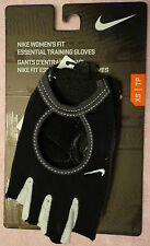 NIKE Women's Fit Essential Training Gloves Black/Anthracite Size XSmall XS/XP