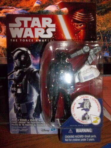 """Star Wars The Force Réveille de premier ordre TIE Fighter Pilot 3.75/"""" BRAND NEW"""