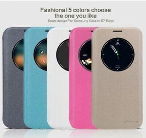 NILLKIN-Sparkle-case-flip-cover-for-Samsung-Galaxy-S7-edge-white