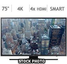 "SAMSUNG 75"" CLASS 4K ULTRA HD LED SMART TV - UN75JU650D (UN75JU650DFXZA)"