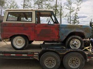 1966 uncut Bronco