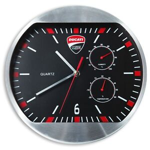 Nouveau-Horloge-murale-DUCATI-Corse-987691020-Ducati-Corse-wall-clock