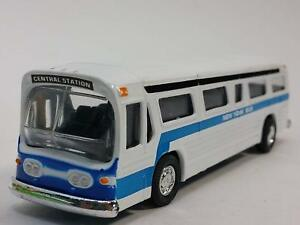 Classic-New-York-City-Bus-Diecast-CAR-Model-with-pull-back-6-inch-Long