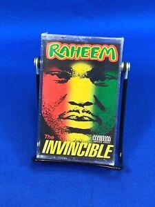 [SEALED] Raheem – [The Invincible] Cassette Tape 1992 Rap A Lot Explicit RARE