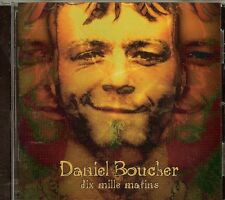 Daniel Boucher - Dix Mille Matins - CD (2006) - USED