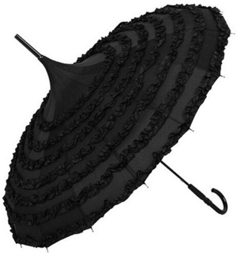 Neu Regenschirm Pagodenschirm Pagode Schirm Sonnenschirm Hochzeit Spitze Lolita