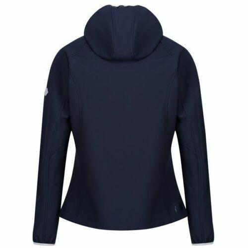 Regatta Arec II Softshelljacke Damen mit Kapuze leicht angerauht UVP 69,95 NEU
