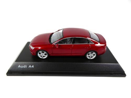 Audi A4 Matador Red 1:43 Spark Dealer Pack Model Car Diecast 4123