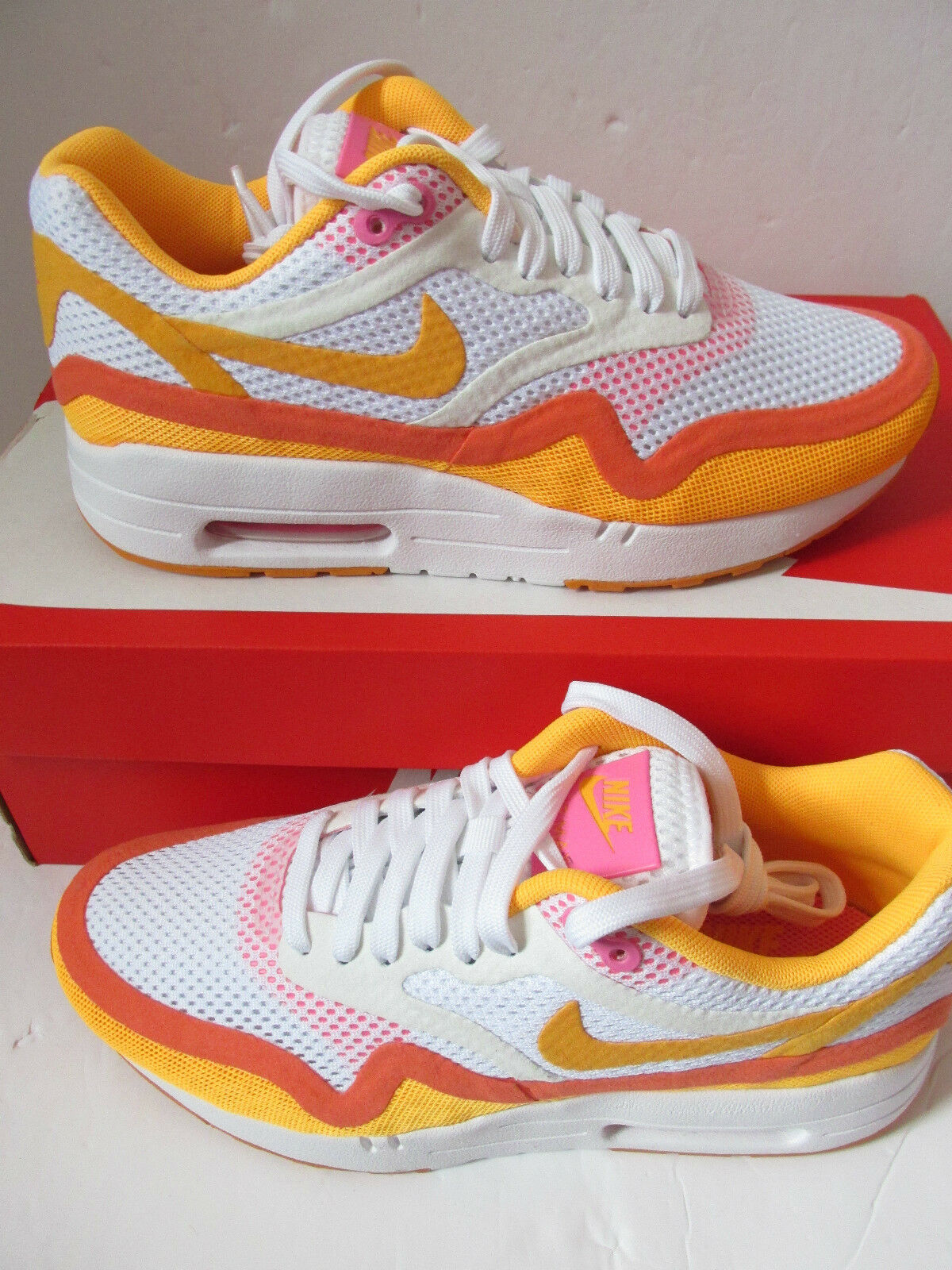 nike Femme air max 1 BR BREATHE running trainers 644443 101 sneakers chaussures