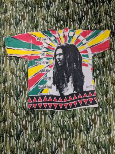 Vintage Bob Marley Tee All Over Print