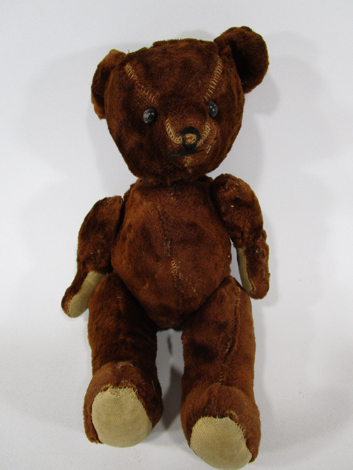 Antique jointed teddy bear vintage unmarked