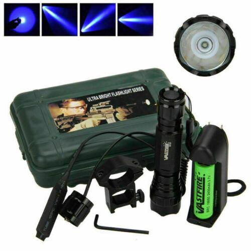 Grün//Blau//Rot LED Jagd Taschenlampe Torch 5000LM Lampe Licht Montieren Schalter