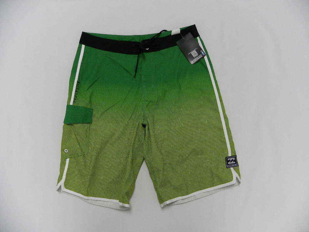 Billabong Men Sz 32 Boardshorts Classic bluee Green