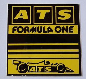 Motorsport-Aufkleber Ats Formula One 14x14 CM Racewheels Rims F1 80er