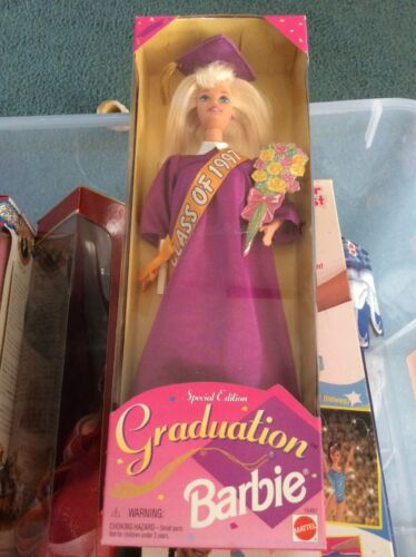 1996 BARBIE GRADUATION CLASS OF 1997 SPECIAL EDITION New In Box Packaging