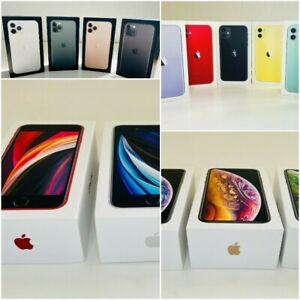 Apple IPHONE Boite Vide Original 11 Pro Max, 11 Pro, 11, XS, XS XR, Se