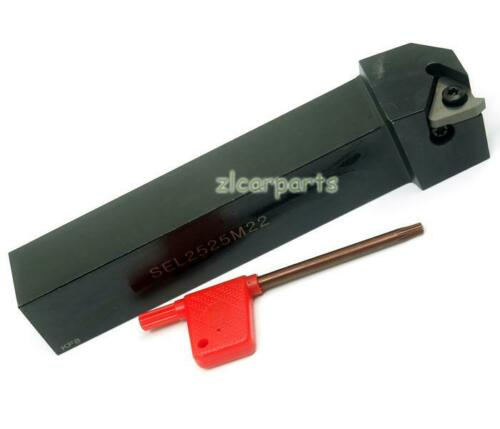 SEL2525M22 25×150mm Threading Turning Tool Holder For 22 IR inserts