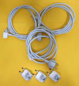 3 X Apple Câble D'alimentation Ue/d D622-0501 Type F + Apple A1561 2 Broches Connecteur Plug-afficher Le Titre D'origine Saveur Aromatique