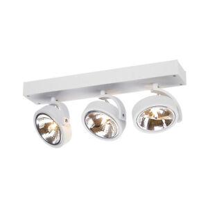 Intalite-Kalu-3-pared-y-lampara-techo-blanco-mate-3x-qrb111-Maximo-3x-50w