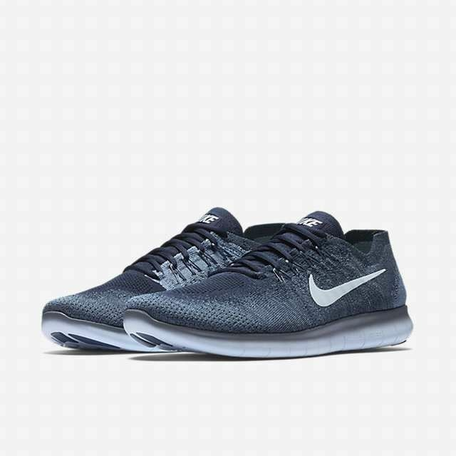 Nuevo Nike Hombres 2018 libre rn Flyknit Zapatos *** Niebla Océano Azul 880843-402 *** Zapatos e58f8f
