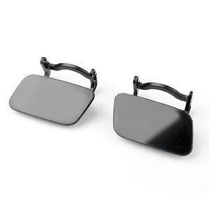 Pair Left&Right Front Bumper Headlight Washer Cap Cover Jet For Audi A4 B8 08 T0