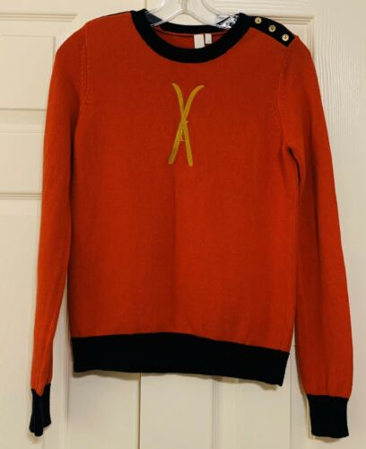 SI-IAE button detail color block sweater