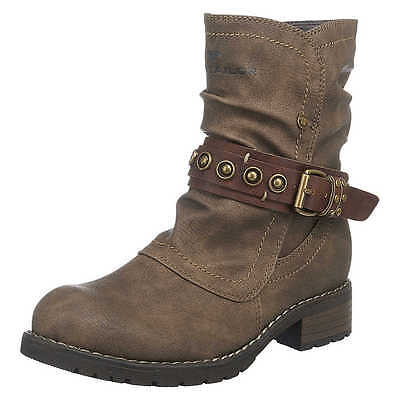 TOM TAILOR Kinder Winterstiefel, Winter Schuhe Stiefel, Boots EU 37, taupe