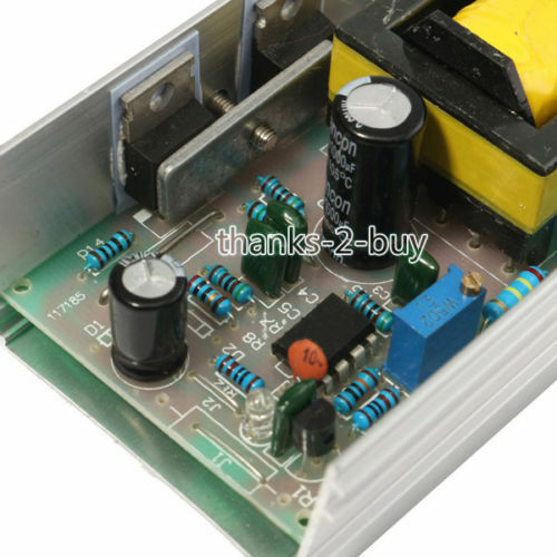 DC 9-24V to100-250V 40-70W high voltage converter boost step up power supply