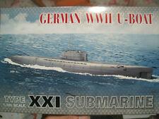 AFV CLUB 1/350 German WWII U-Boat Type XXI Submarine