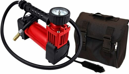 SuperFlow HV-35 Portable Air Compressor 12 volt Car ATV Motorcycle tire Sports