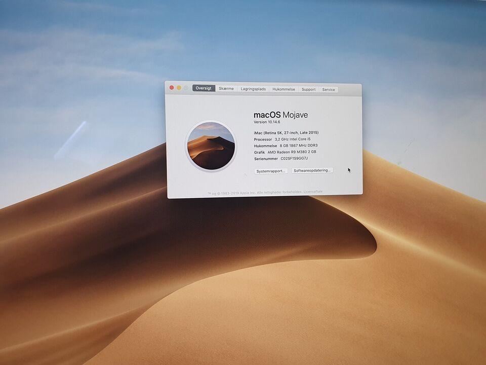 iMac, Late 2015, 3,2 GHz