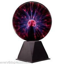 LARGE 8 INCH 20CM PLASMA BALL PARTY DISCO LIGHT LAMP NIGHT LIGHTING GLOBE