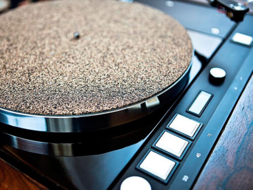Cork Turntable Record Mat SET 1+1 mm Vinyl LP Audiophile MADE IN GERMANY TOP!