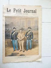 PETIT JOURNAL 1894 CASERIO ANARCHISTE ASSASSIN SADI CARNOT / ROI D'ESPAGNE