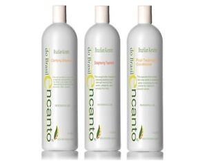 Encanto-Brasil-Straightening-Treatment-3x100ml-Keratin-Original-NEW-STRONGER-SET