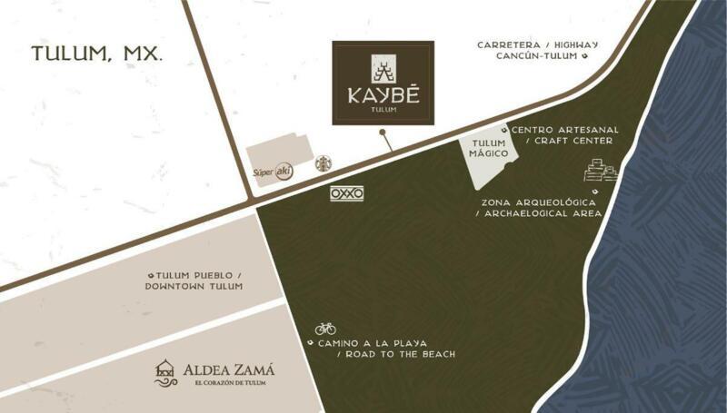 Lotes unifamiliares en venta en Tulum - Kaybe