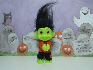 "3/"" Russ Troll Doll NEW ONE HALLOWEEN FRANKENSTEIN CLIP ON"