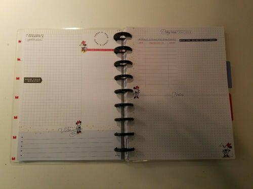 Disney Minnie Budget Journal The Happy Planner Classic Size Journal